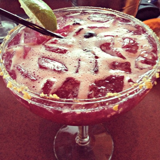 Blueberry Muffin Margarita