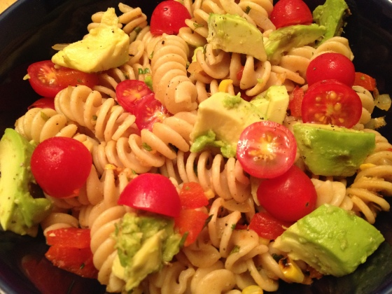 Roasted Peppercorn Pasta Salad