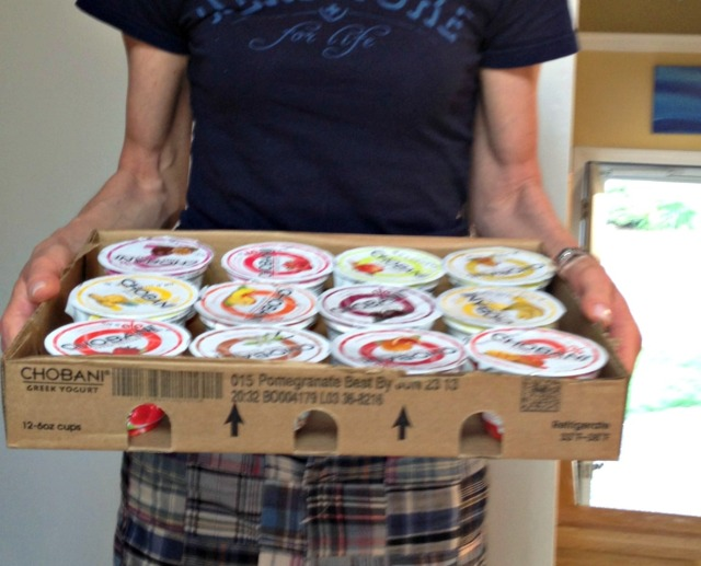 Dawn's Chobani Winnings