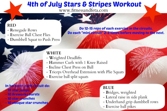 4th of July Workout