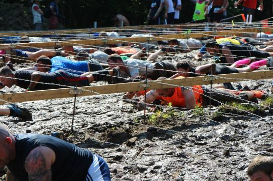 Tough Mudder: Barbed Wire