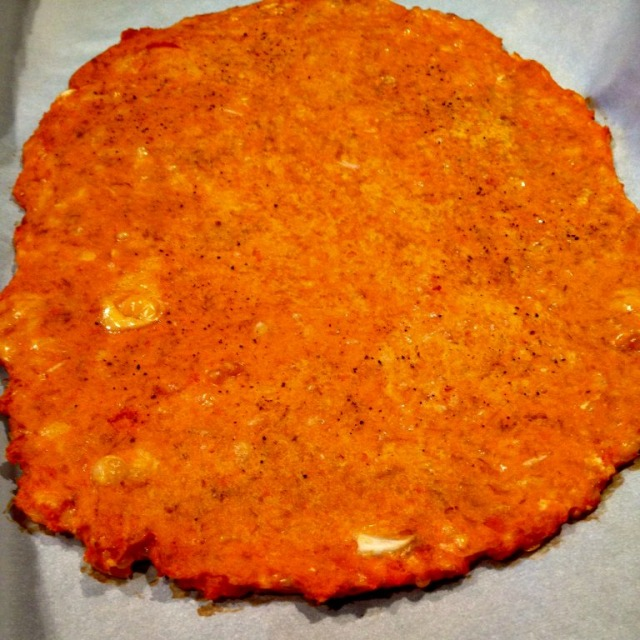 Carrot Crust Pizza Recipe