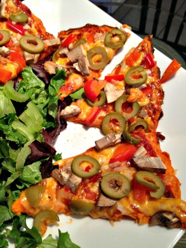 Carrot Crust Pizza Recipe