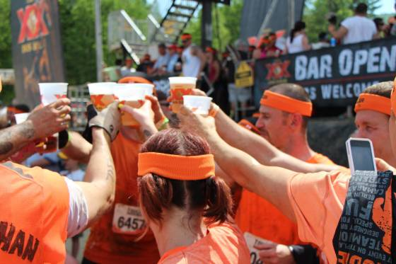 Tough Mudder Cheers