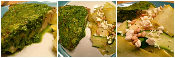 Citrus Pesto Swordfish