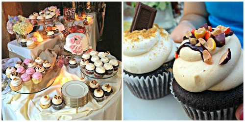 cupcakes from Jen's wedding