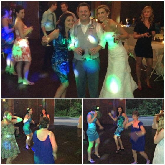 Dancing at Jen's Wedding
