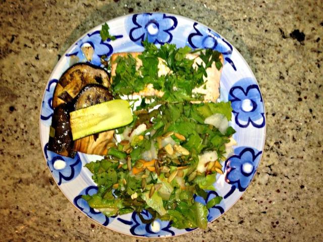Dawn's salmon salad