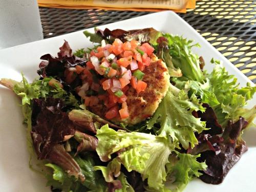 Park Tavern Crab Cake Salad