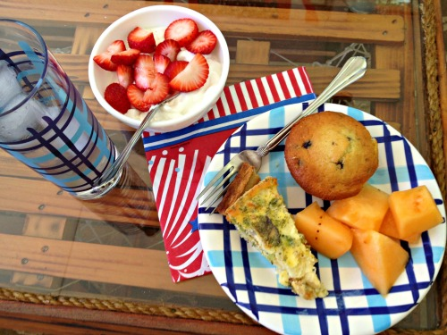 4th of July breakfast