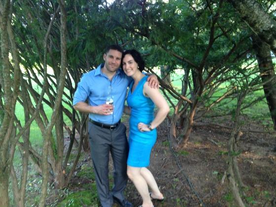 Bret & Ashley at Jen's Wedding