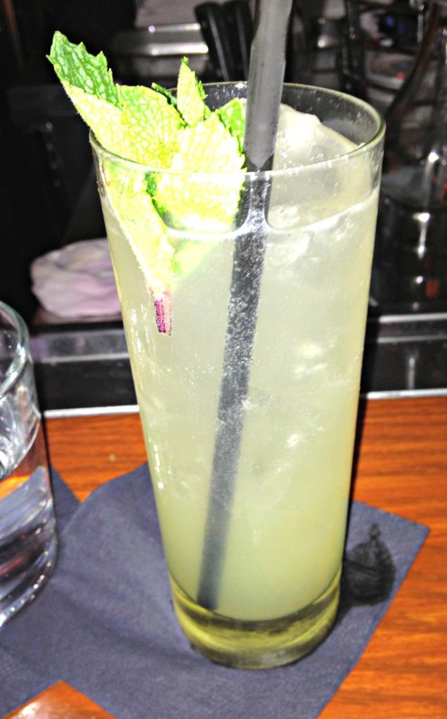 Cucumber and gin