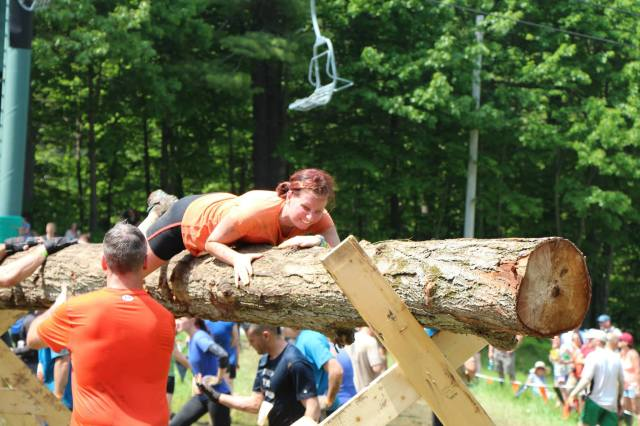 Tough Mudder Logs