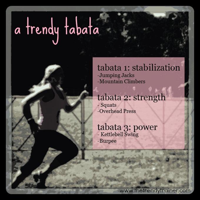 A Trendy Tabata