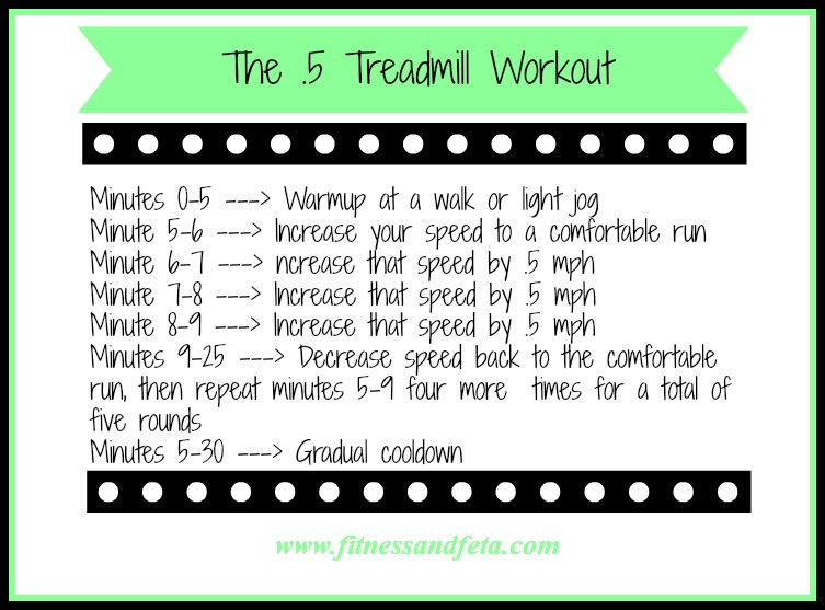 The .5 Treadmill Workout