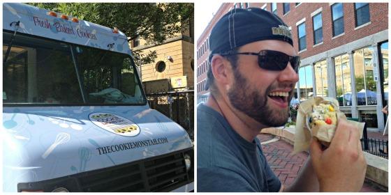 cookie monstah truck