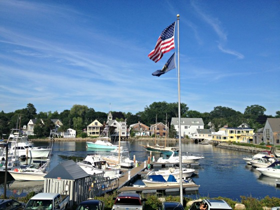 Kennebunkport - View from Federal Jacks