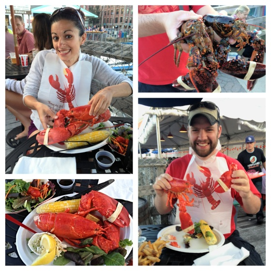 Lobsters after lobstering