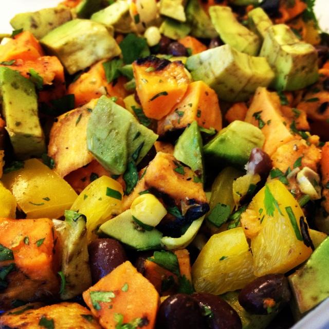Southwestern Sweet Potato Salad