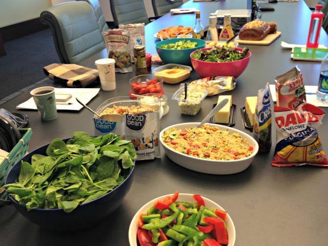 Salad Club Lunch
