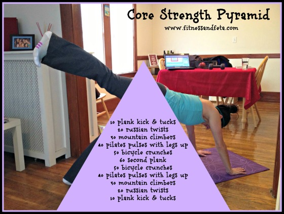 core strength pyramid