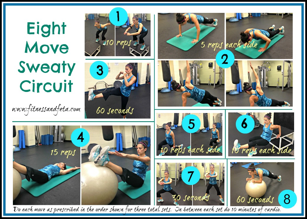 Eight Move Sweaty Circuit