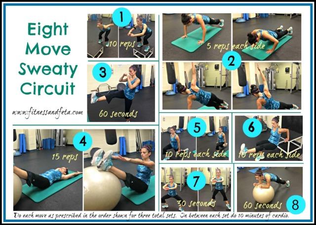 Eight Move Sweaty Circuit