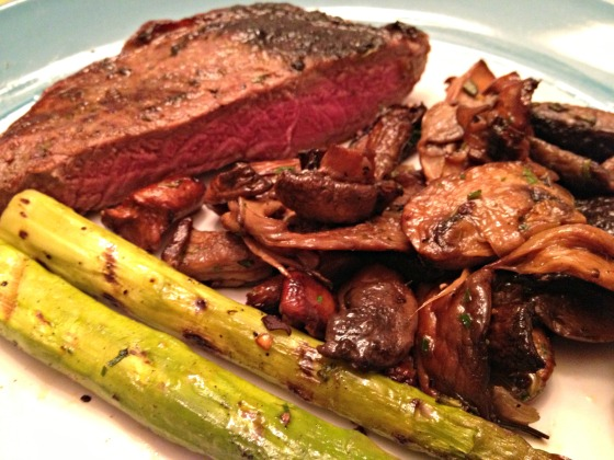 Dry Rub Steak
