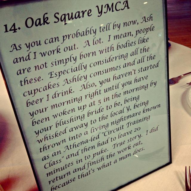 Oak Square Y Table 14