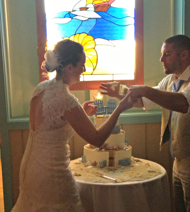 Ashley & Bret Wedding Cake