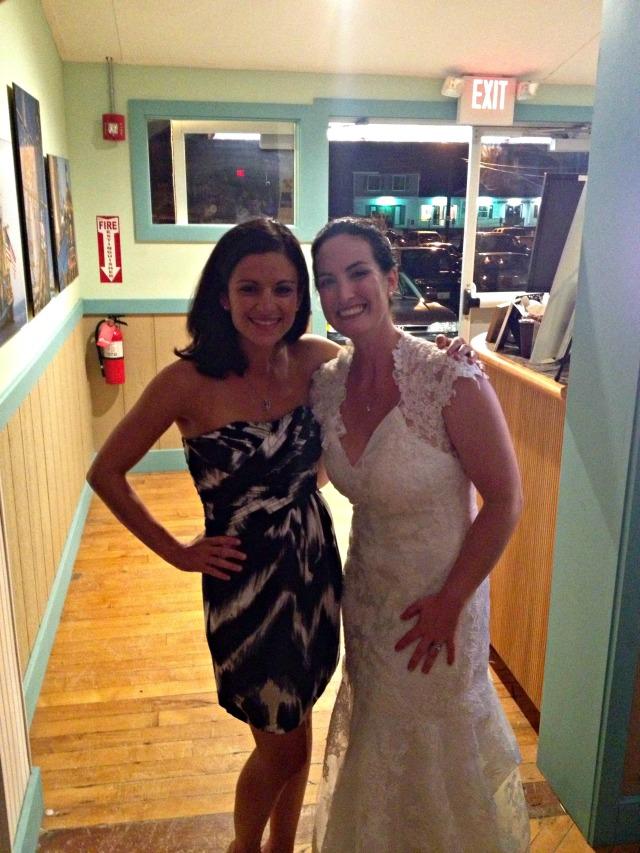 Me & Ashley at wedding