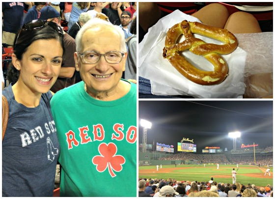 Red Sox Pretzel