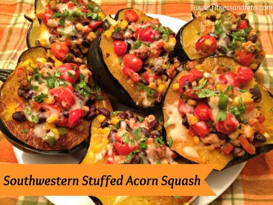 Southwestern Stuffed Acorn Squash