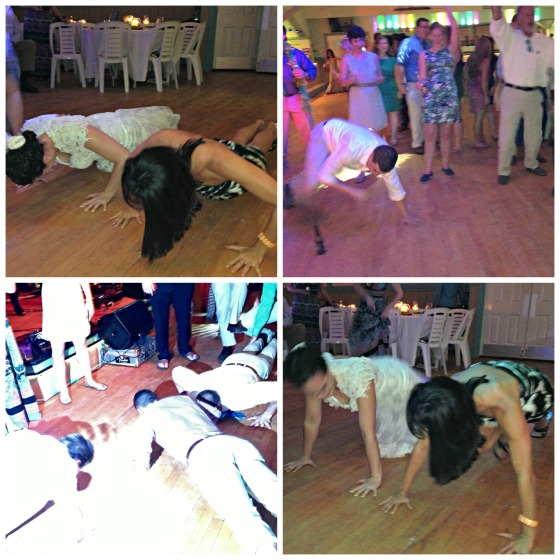 Wedding Pushups