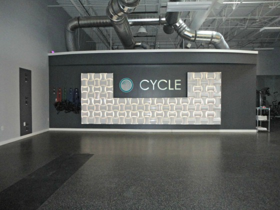 FitHouse: Cycle Room Woven Wall