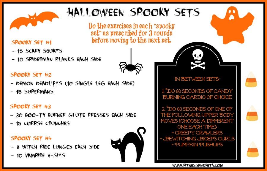 Halloween Spooky Sets