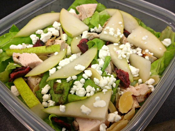 Pear and Chicken Salad
