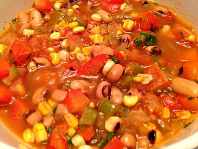 Tomato and Corn Chowder