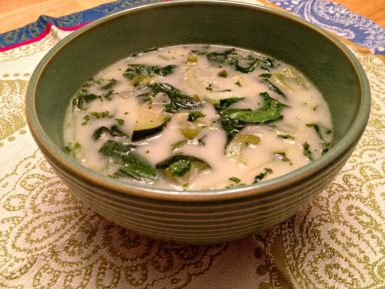 Get Rid of Those Greens Soup