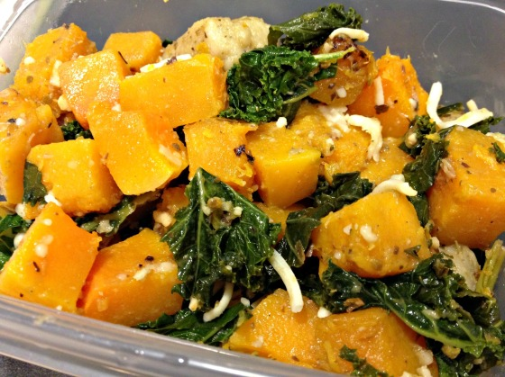 Butternut Squash Casserole with Gnocchi and Kale