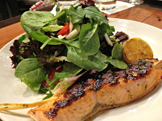 Seasons 52 Salmon Salad