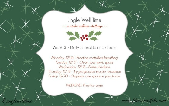 Jingle Well Time Week 3