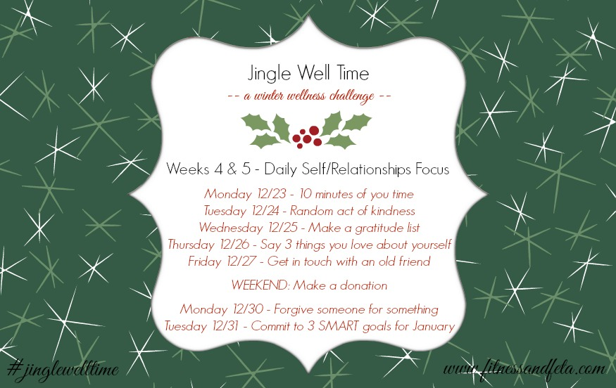 Jingle Well Time Weeks 4 & 5