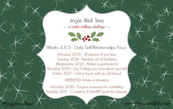Jingle Well Time Weeks 4 & 5