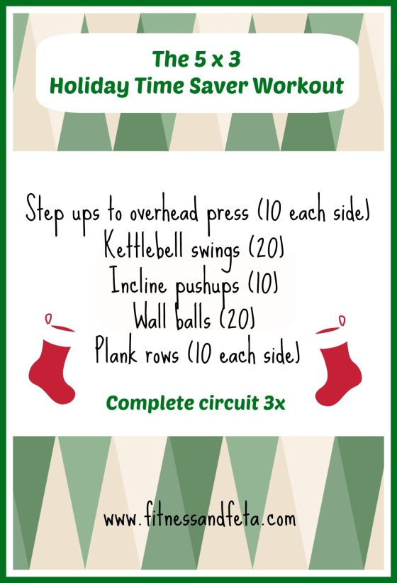 5x3 Holiday Time Saver Workout