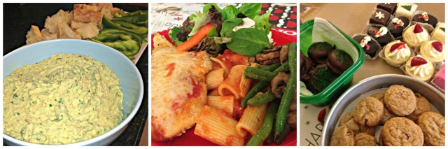 Christmas 2013: Food at Katrinas