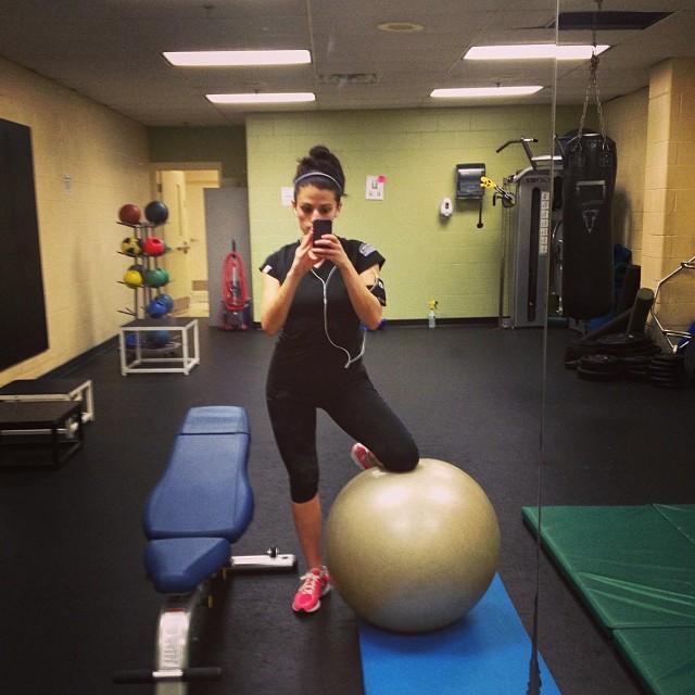 Gym to myself