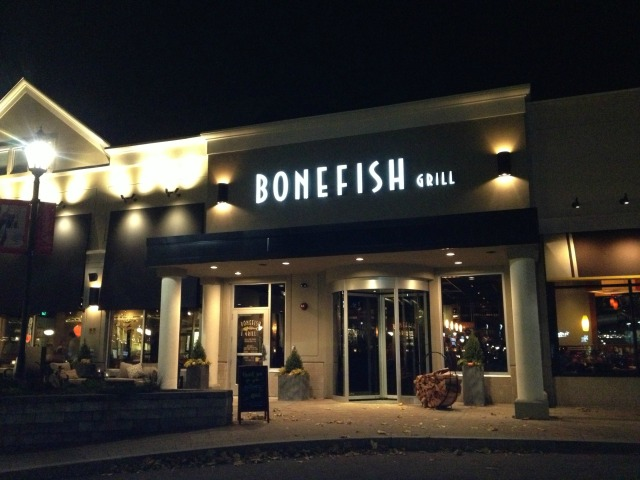 Restaurant review bonefish grill in burlington achieve for Bone fish grill locations