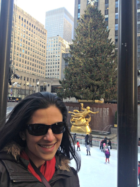 NYC 2013: Me at the Tree