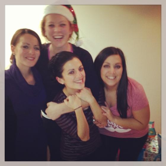 Roommate Christmas Night